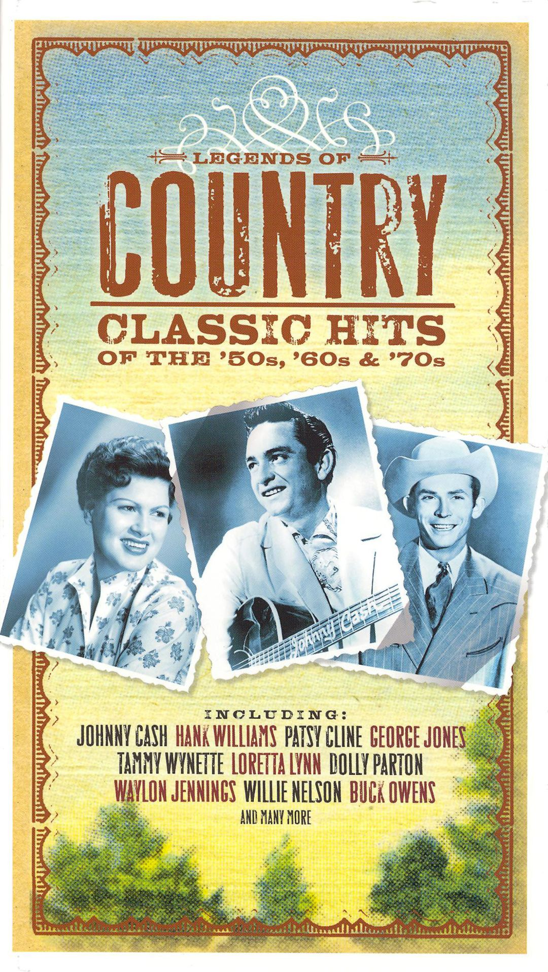Legends of Country: Classic Hits from the \'50s, \'60s & \'70s ...