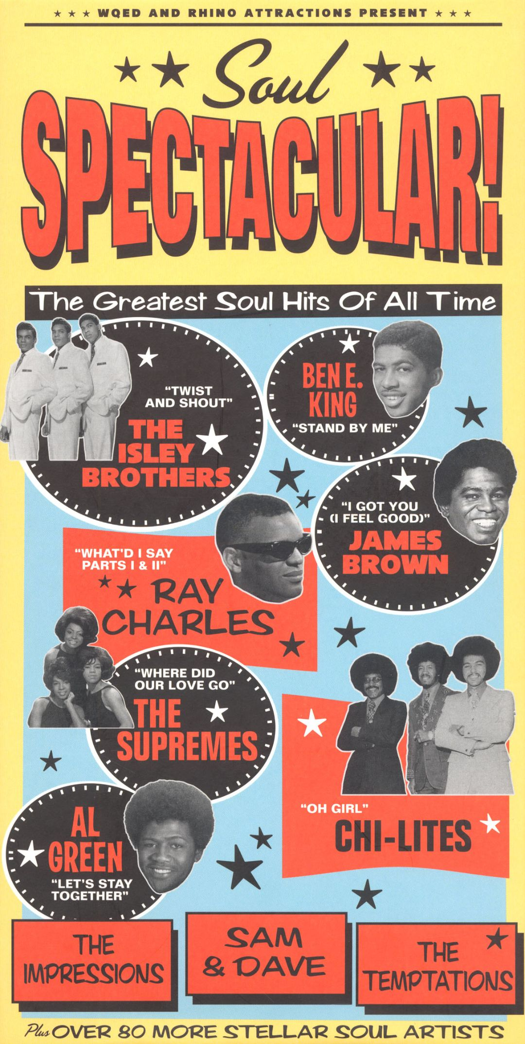 soul spectacular the greatest soul hits of all time various