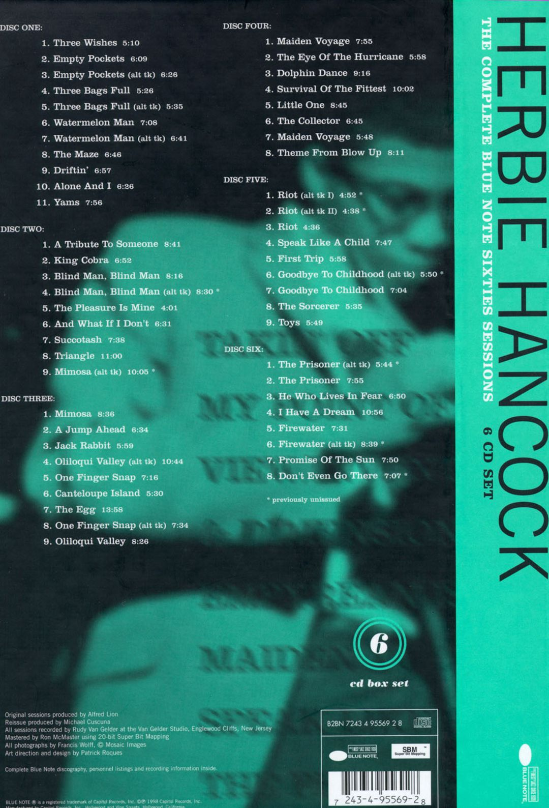 The Complete Blue Note Sixties Sessions