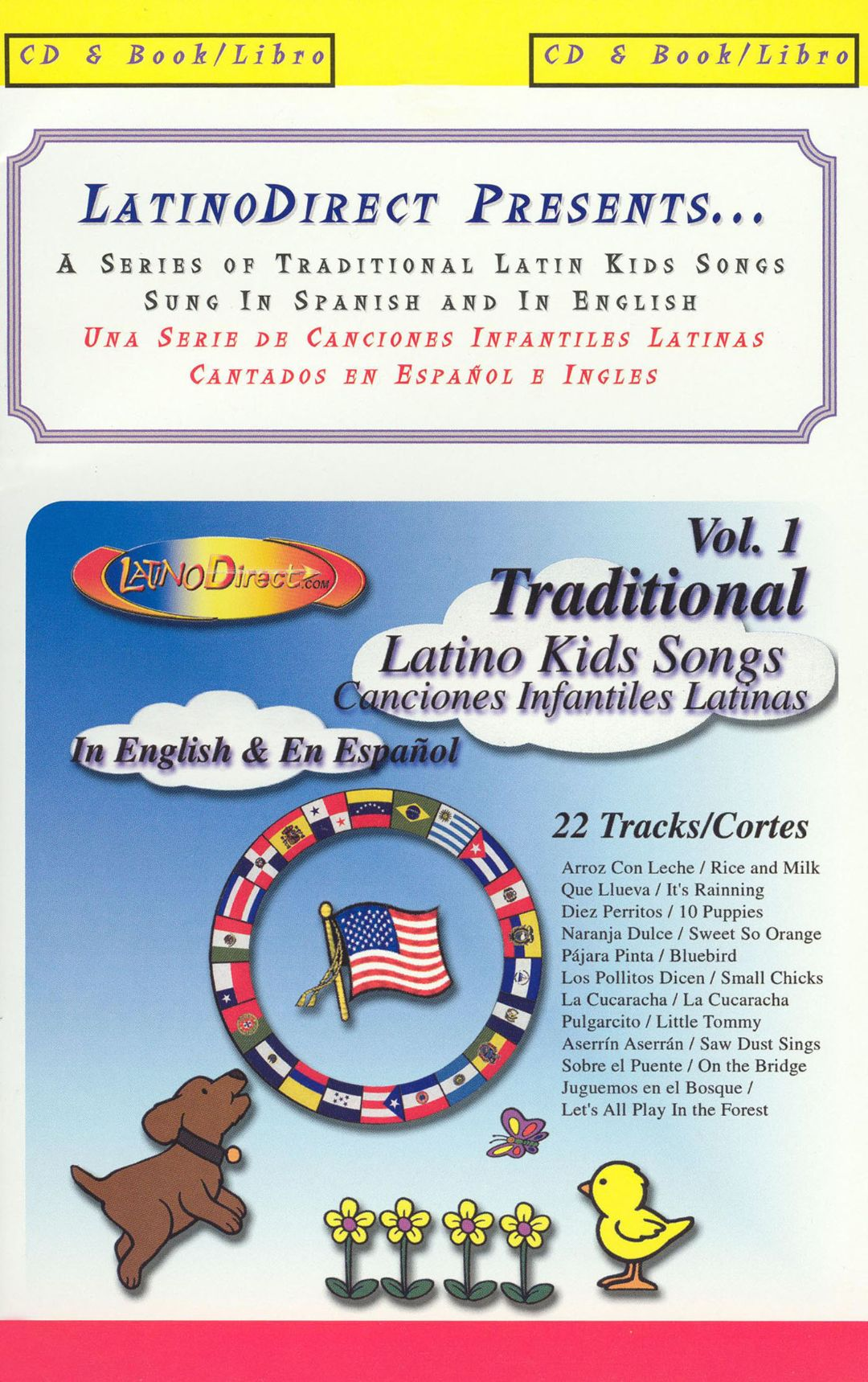 Traditional Latino Kids Songs, Vol. 1 [With Book]