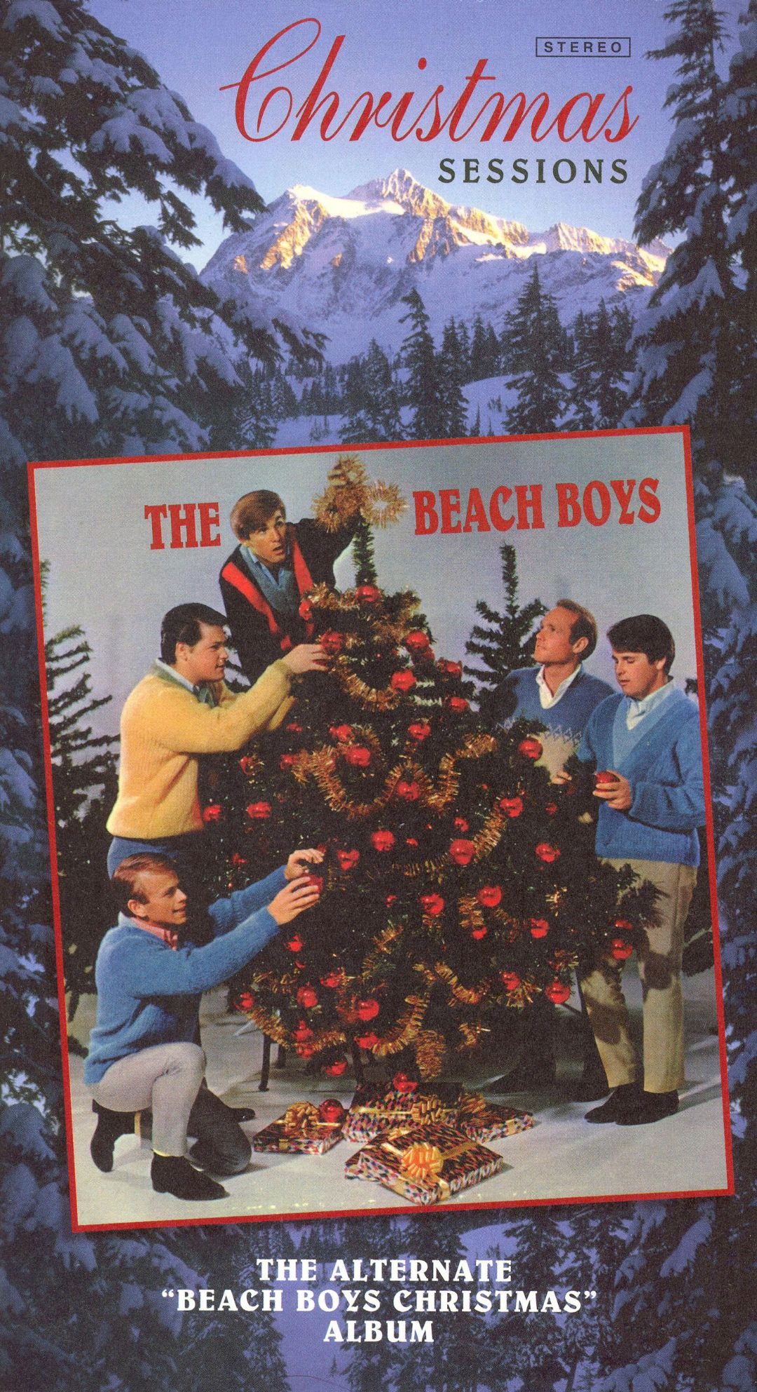 christmas sessions the alternate beach boys christmas album - Beach Boys Christmas