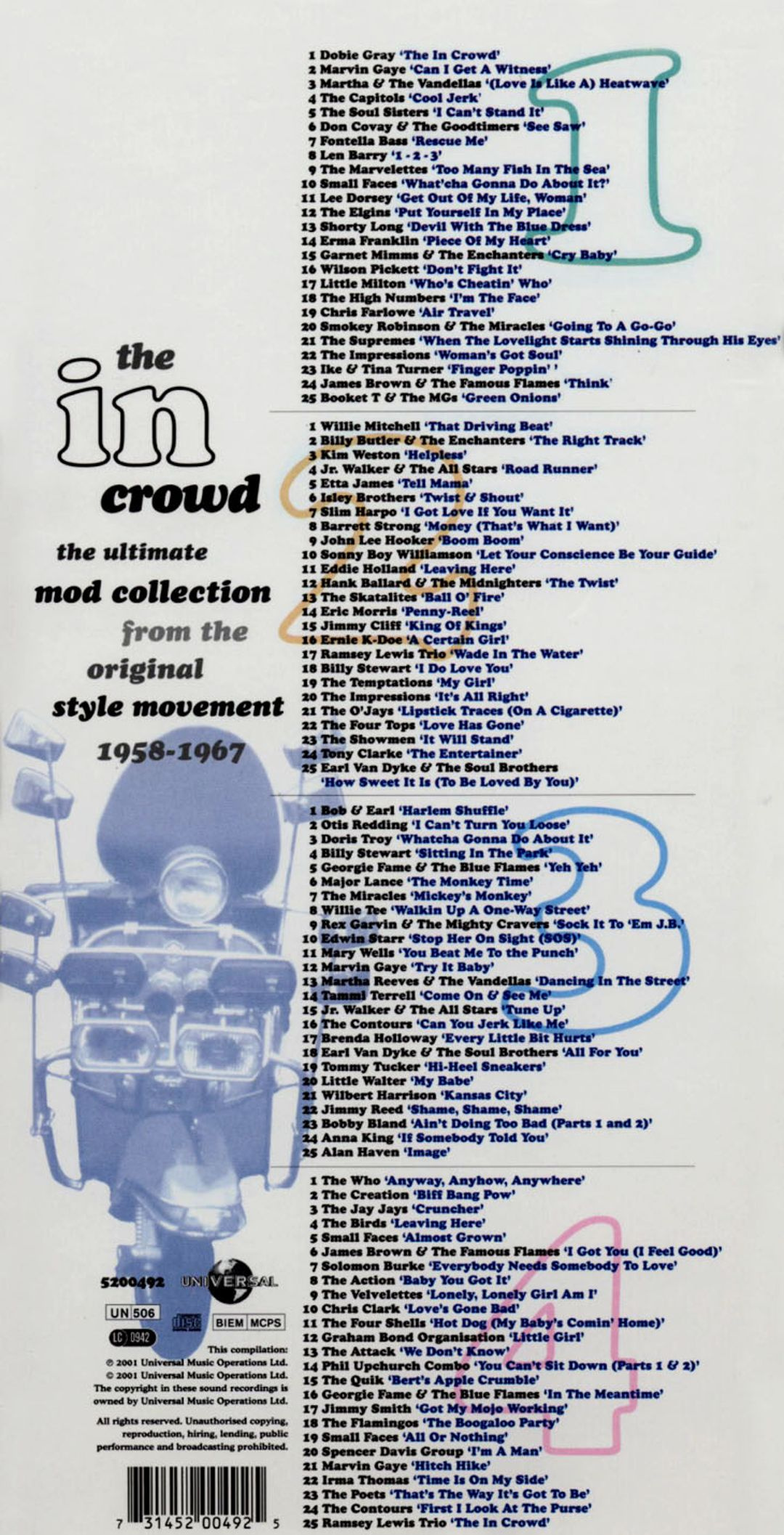 In Crowd: Ultimate Collection 1958-67