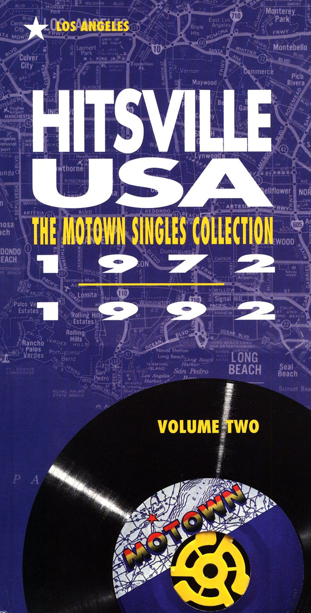 Smart Cover Reviews >> Hitsville USA, Vol. 2: The Motown Singles Collection 1972-1992 - Various Artists | Songs ...