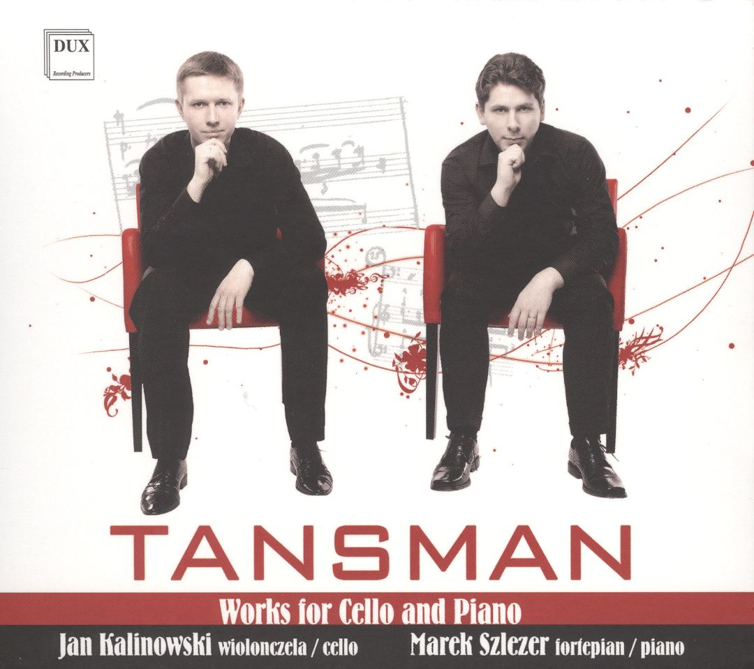 Tansman: Works for Cello and Piano