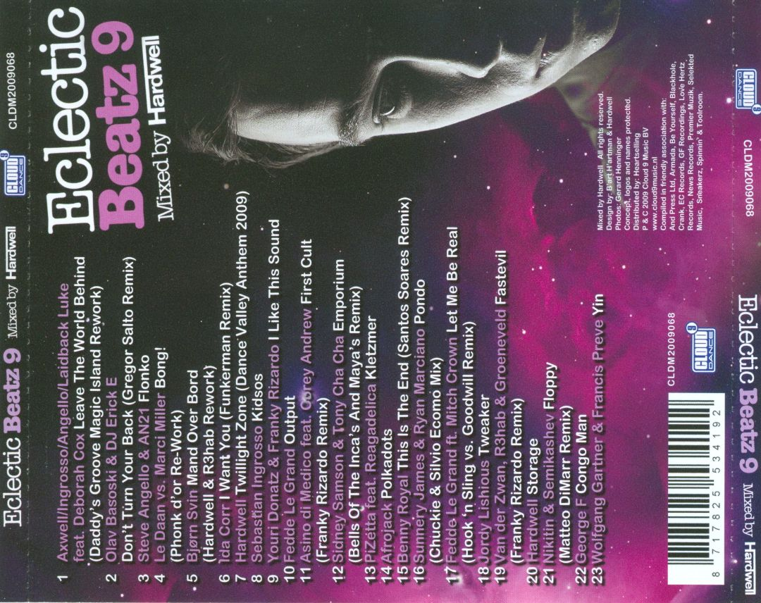 Eclectic Beatz, Vol. 9: Mixed by Hardwell