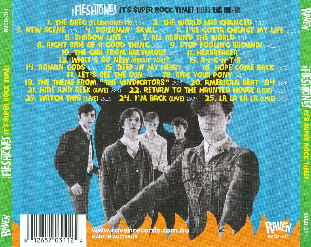 It's Super Rock Time!: The I.R.S. Years 1980-1985