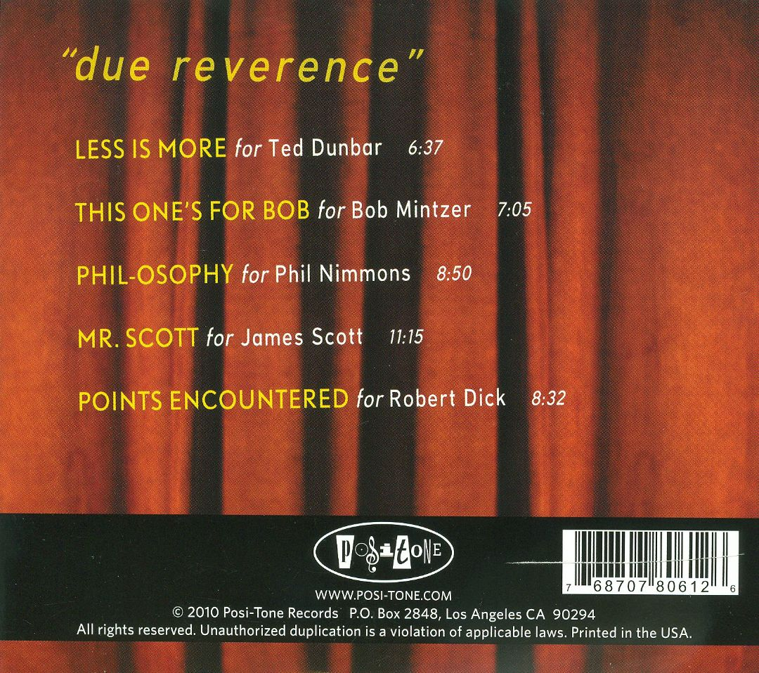 Due Reverence