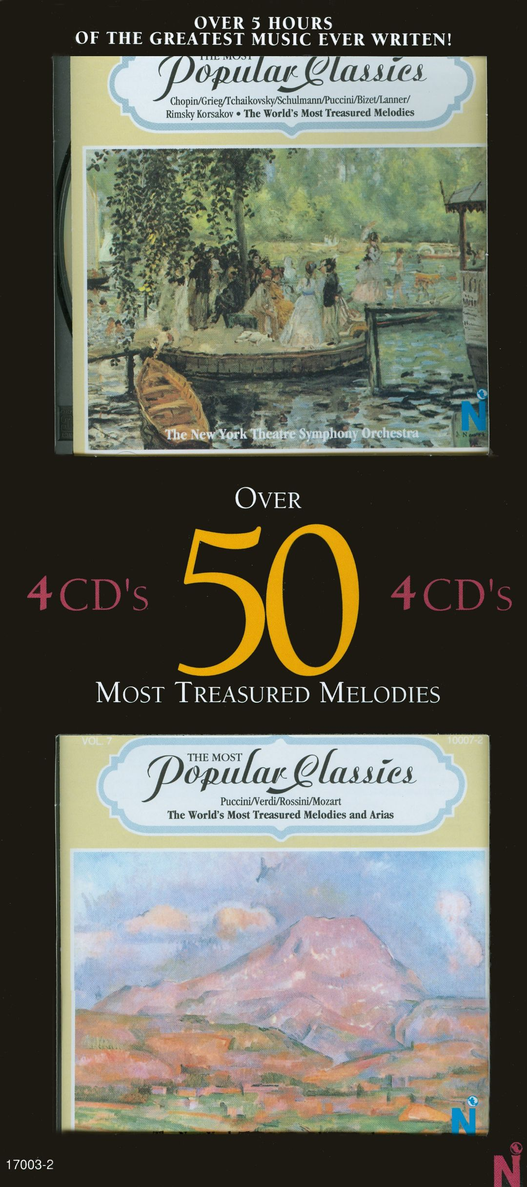 Over 50 Most Treasured Melodies