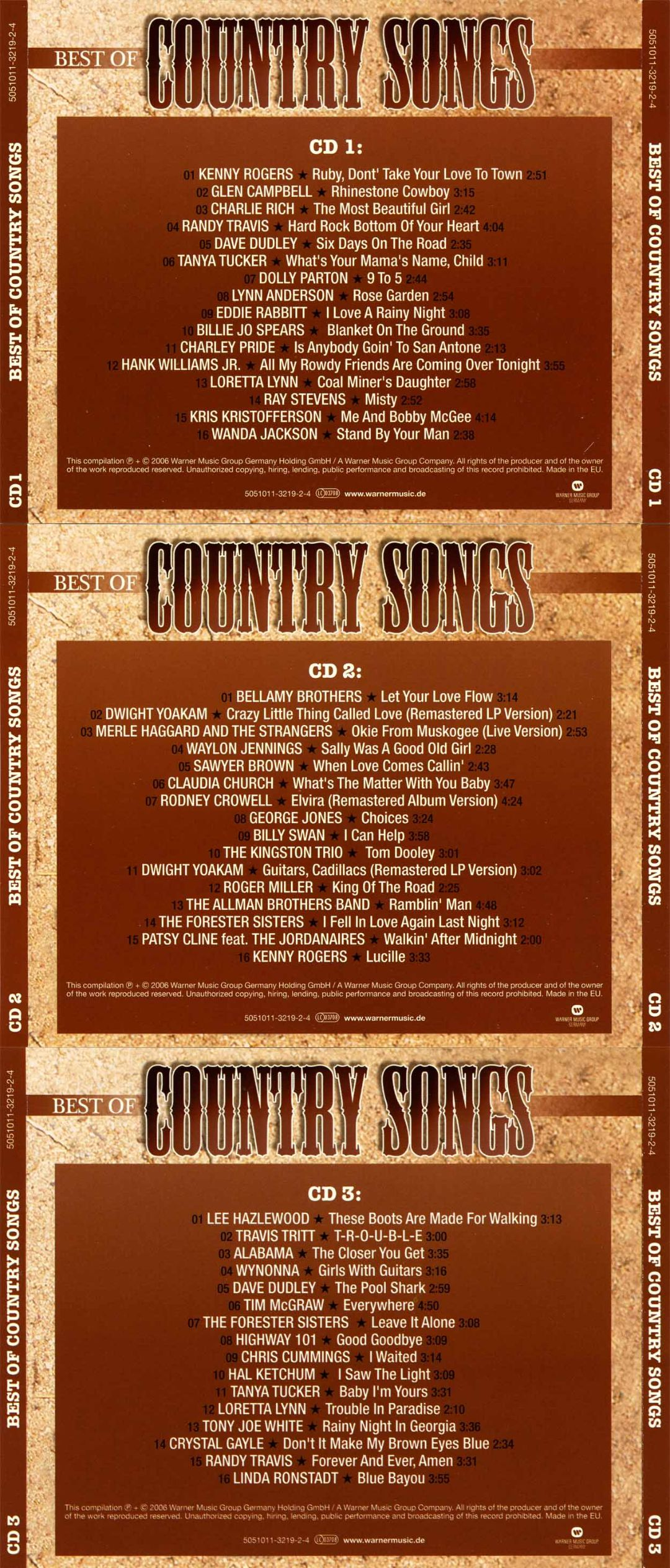 Best of Country Songs