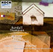 Gould: Fall River Legend/Thompson: Symphony No.1