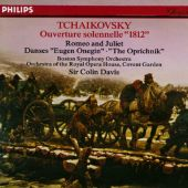 Tchaikovsky: Ouverture solennelle 1812; Romeo and Juliet; Danses from Eugen Onegin, The Oprichnik