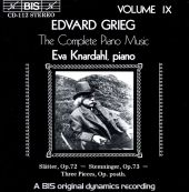 Grieg: The Complete Piano Music, Vol. 9