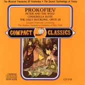 Prokofiev: Peter and the Wolf; Cinderella Suite; The Ugly Duckling