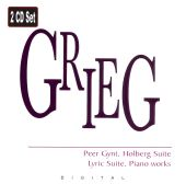 Grieg: Peer Gynt; Holberg Suite; Lyric Suite; Piano Works