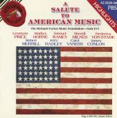 A Salute to American Music: Highlights from the Richard Tucker Foundation Gala XVI