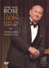 Jerome Rose Plays Chopin Live in Concert [DVD Video]