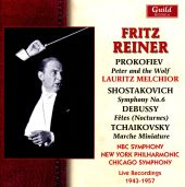 Prokofiev: Peter and the Wolf; Shostakovich: Symphony No. 6; Debussy: Fêtes (Nocturnes)