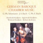 German Baroque Chamber Music