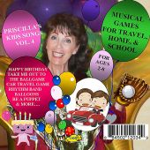 Musical Games for Travel, Home, & School