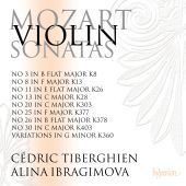 Mozart: Violin Sonatas Nos. 3, 8, 11, 13, 20, 25, 26, 30; Variations in G minor