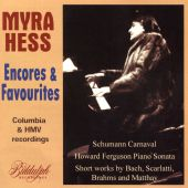 Encores & Favourites: Columba & HMV Recordings