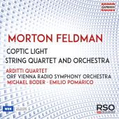 Morton Feldman: Coptic Light; String Quartet and Orchestra
