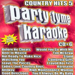 Sybersound - Party Tyme Karaoke: Country Hits, Vol. 5