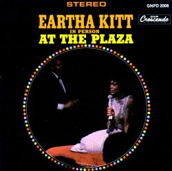 Eartha Kitt In Person at the Plaza