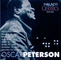 Oscar Peterson - Paris Jazz Concert [Malaco]