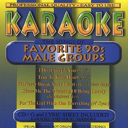 Karaoke - Songs of Favorite 90's Male