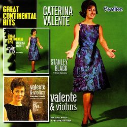 Caterina Valente - Great Continental Hits/Valente and Violins