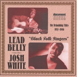 Black Folk Singers (The Remaining Titles 1937-1946)