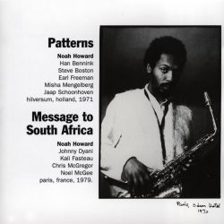 Patterns/Message to South Africa
