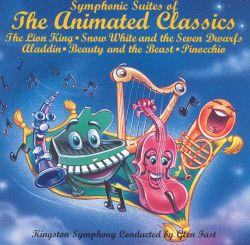 Kingston Symphony - Symphonic Suites of the Animated Classics