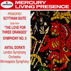 Prokofiev: The Love of Three Oranges Suite; Symphony No. 5