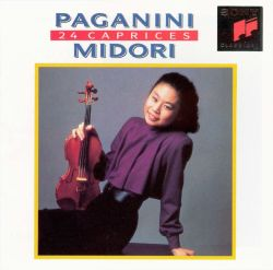 paganini 24 caprices midori songs reviews credits awards allmusic. Black Bedroom Furniture Sets. Home Design Ideas