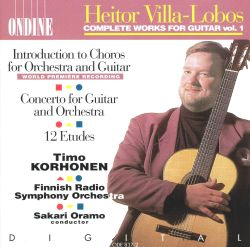 Heitor Villa-Lobos: Complete Works for Guitar, Vol. 1