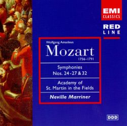Mozart: Symphonies Nos  24-27 & 32 - Neville Marriner | Songs