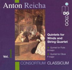 Consortium Classicum - Anton Reicha: Quintets for Winds and String Quartet, Vol. 1