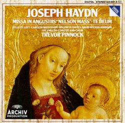 Trevor Pinnock / The English Concert - Haydn: Nelson Mass; Te Deum