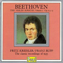 Beethoven: Violin Sonatas, Vol.1