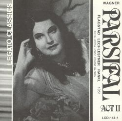 Kirsten Flagstad - Wagner: Parsifal Act 2