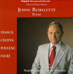 John Robilette - French Piano Album
