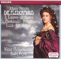 Strauss: Die Fledermaus [Highlights]