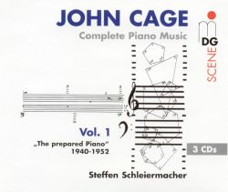 Cage: Complete Piano Music Vol. 1