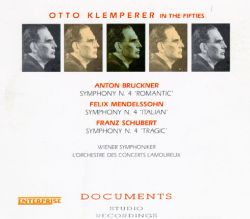 Otto Klemperer - Otto Klemperer in the Fifties