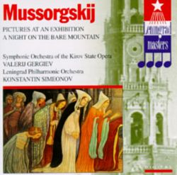 Mussorgskij: Pictures at an Exhibition; A Night on the Bare Mountain