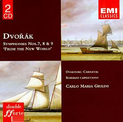 "Dvorák: Symphonies Nos. 7, 8 & 9 ""From the New World"""