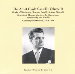The Art of Guido Cantelli, Vol. 1