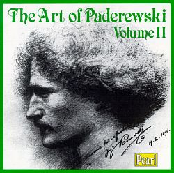 The Art of Paderewski, Vol. II